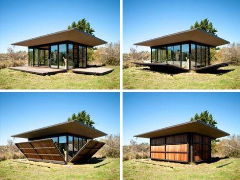 box cabin exterior walls
