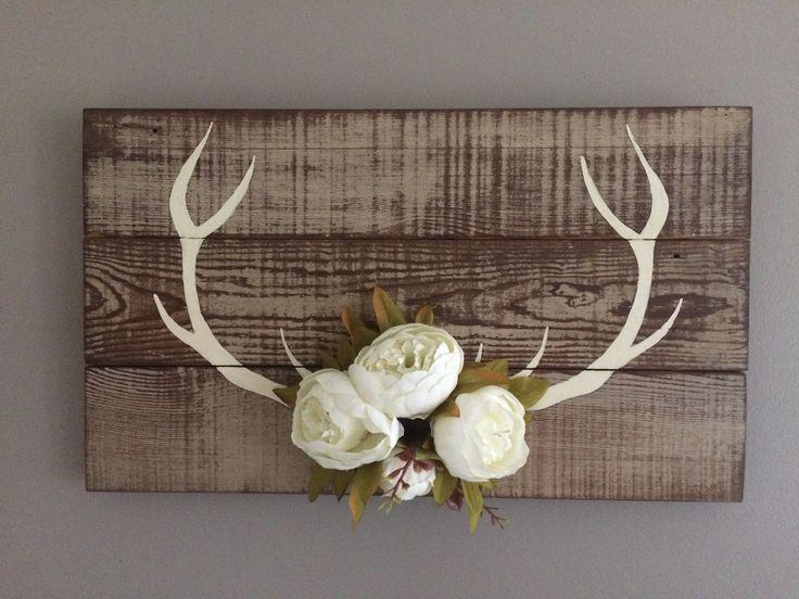 Deer Wall Decor best 25+ deer antler decorations ideas on pinterest | deer horns