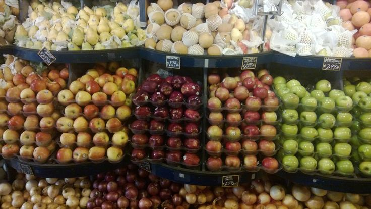 produce display | Grocery store | Pinterest
