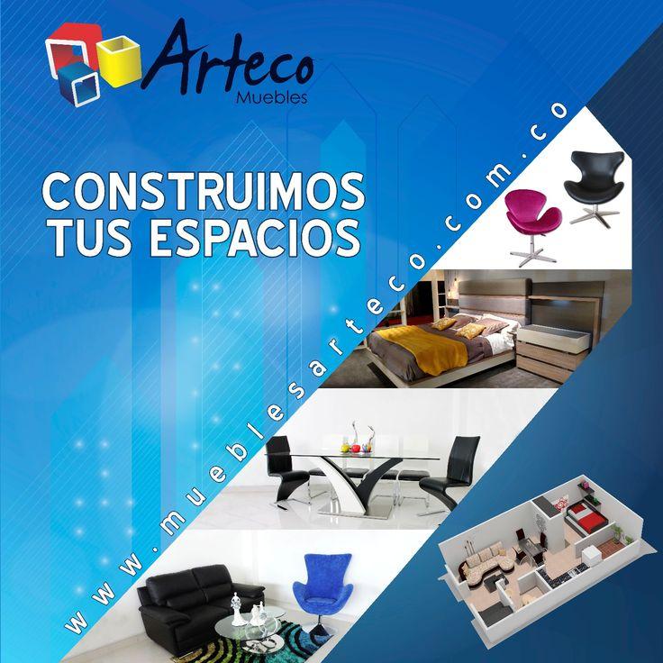 #artecoteinspira Muebles Arteco Pereira te lleva de la mano a decorar tus espacios en los cuales vas a vivir en familia miles de recuerdos e historias felices. whatsapp 315- 286 39 50 fijo 337 77 80