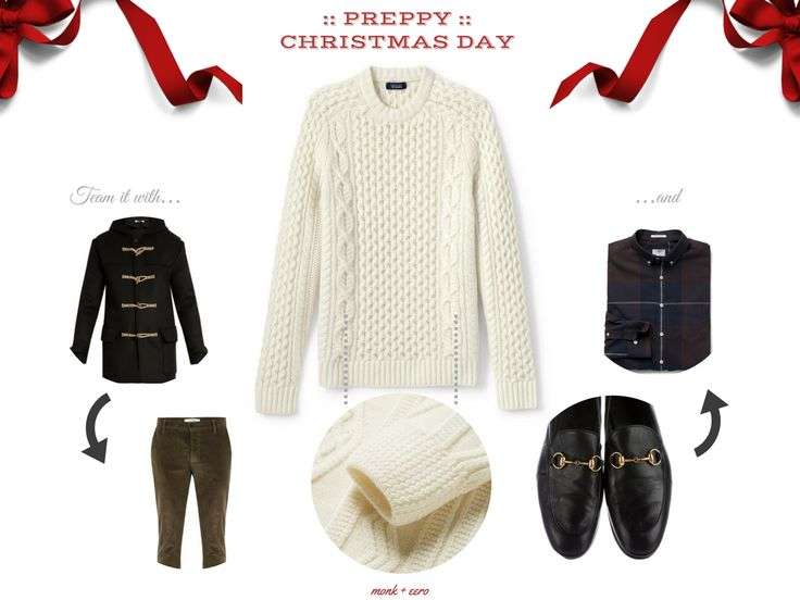 Dressing up come Christmas — morning, afternoon, or night — is not something that is expected by most but that need not mean that you should not endeavour to simply scrimping on your style.  And, as luck would have it, the three looks above will equip yo