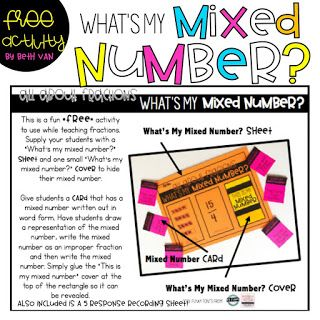Best  Improper Fractions Ideas On Pinterest Math Fractions Teaching Fractions And Fraction Games