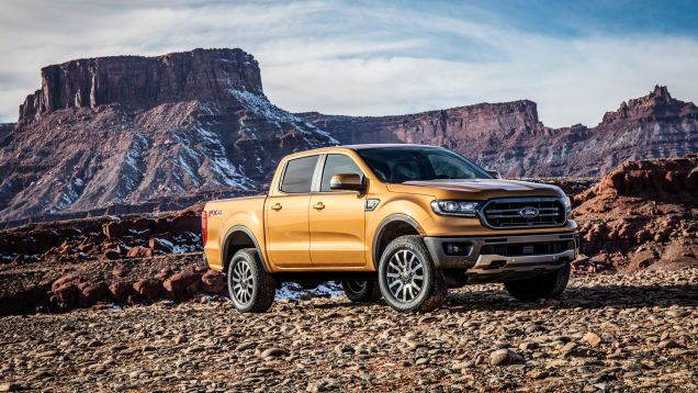 The 2019 Ford Ranger Matches Diesel Mpg With Gas Engine Ford Ranger 2020 Ford Ranger