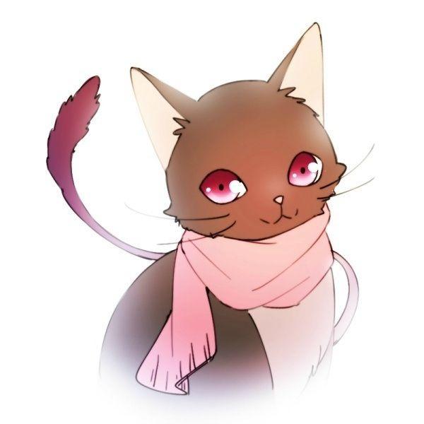 Hiyori as a kitten.  Isn't she adorable?