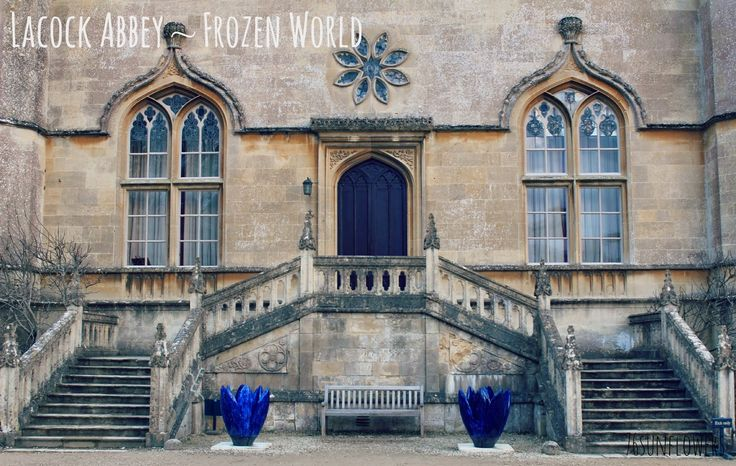 Lacock Abbey - Frozen World // 76sunflowers