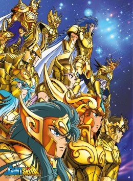 Saint Seiya - Gold Saints