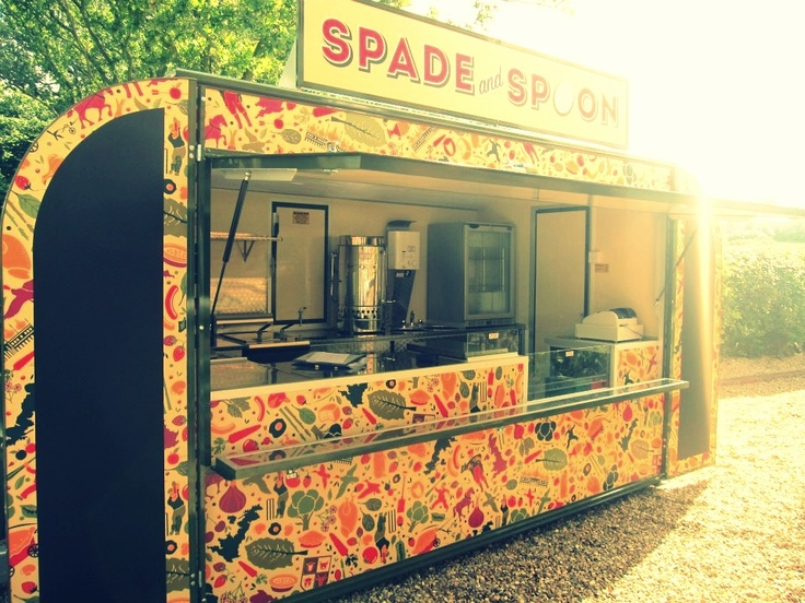 Spade and Spoon - Great British Mobile Cafe - available for your event!