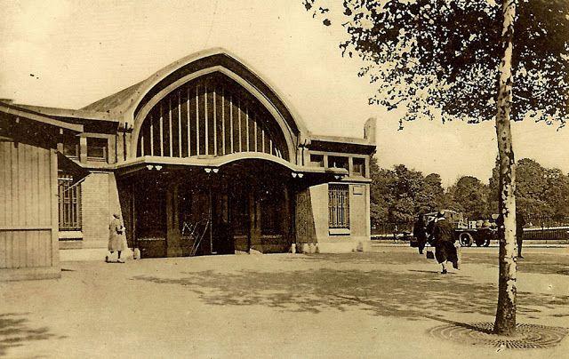 1854 - Les trains aux Batignolles