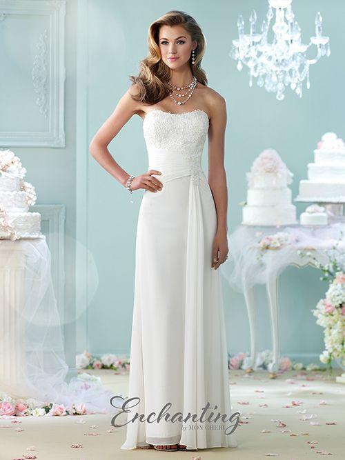 18 best ENCHANTING images on Pinterest | Wedding frocks, Short ...