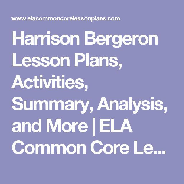 a literary analysis and a comparison of the literature by harrison bergeron and kurt vonnegut Literary devices in harrison bergeron tone personification metaphor ex the blank essay paper  a figure of speech that makes a comparison between two unlike .
