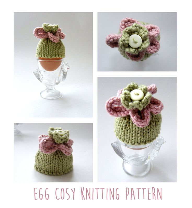 The 8 best Egg cosies (knitted) images on Pinterest | Knit patterns ...