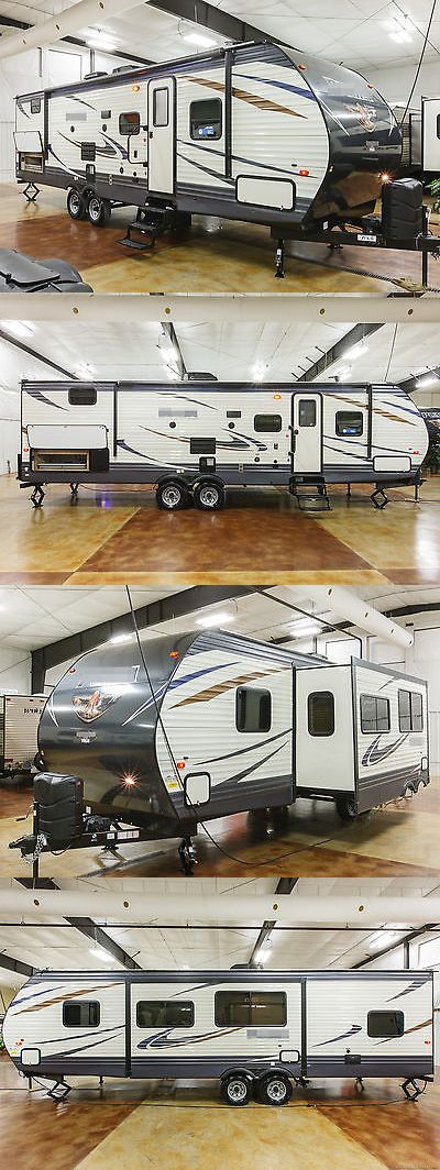 rvs: New 2018 29Qbss Bunkhouse Travel Trailer With Quad 4 Bunks And Outdoor Kitchen -> BUY IT NOW ONLY: $19599 on eBay!