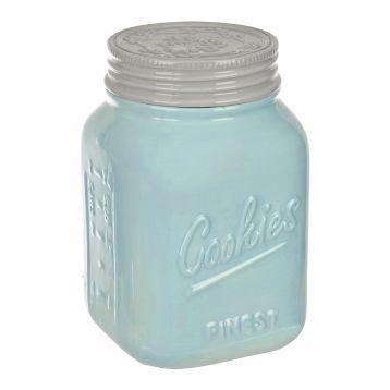 Blue Vintage Cookie Jar