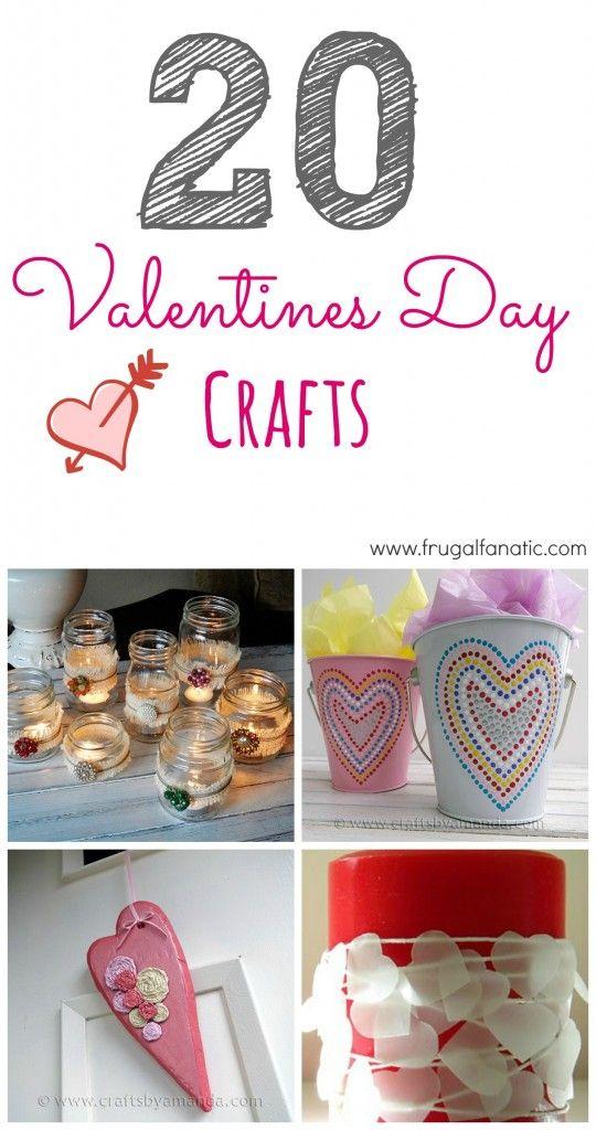 20 Valentines Day Crafts!