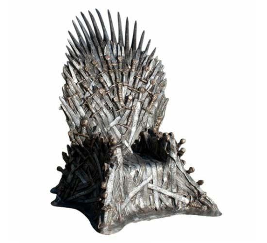$30,000 Game of Thrones Replica Iron Throne