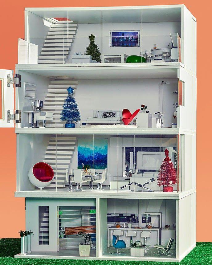 Modern Mini Houses: MIAIM Miniatures' MiPad is #8 on Vogue's Holiday Gift Ideas