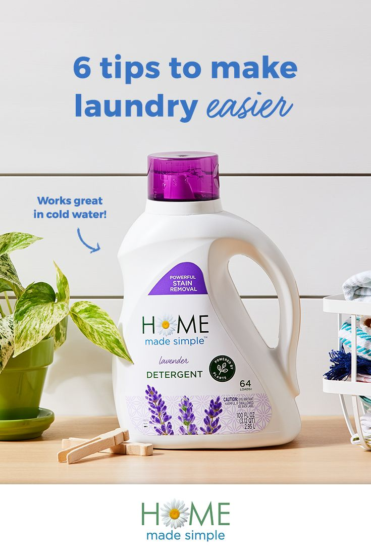6 Solutions To Make Your Laundry Routine Easier Quick Easy
