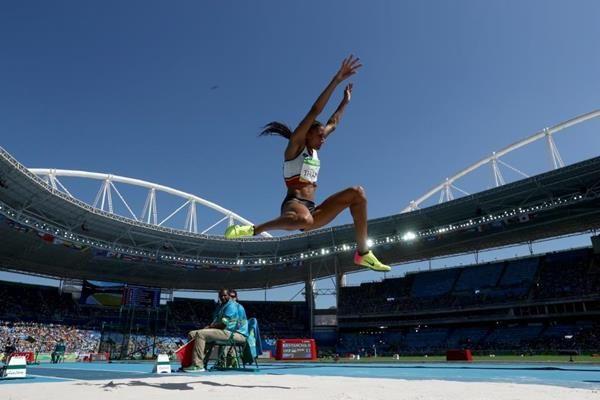 Olympic heptathlon champion Nafissatou Thiam
