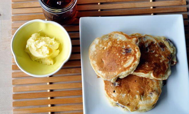 banana pecan pancakes | wakey wakey! | Pinterest