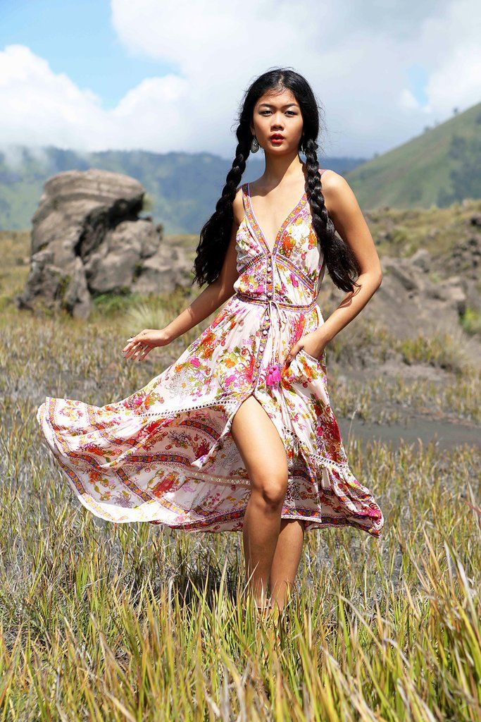 56a21d56ee Delila Maxi Dress - Primrose Pink in 2019   Maxis   Dresses, Pink ...