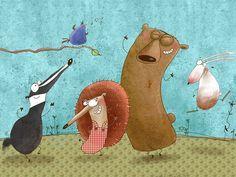 Susan Batori - Illustrations | Bátori Zsuzsa - Illusztrációk