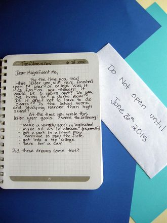 Activities: Write a Letter to Your Future Self http://www.huffingtonpost.com/isabel-song/a-letter-to-my-future-sel_b_4522265.html