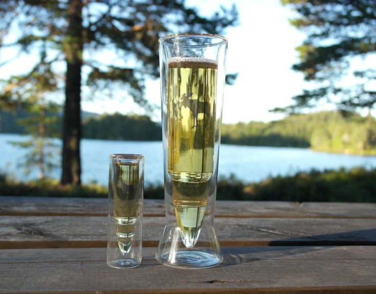 Patron Øl glass 'Silver Moose' - Brødrene Flaarønning AS Nettbutikk
