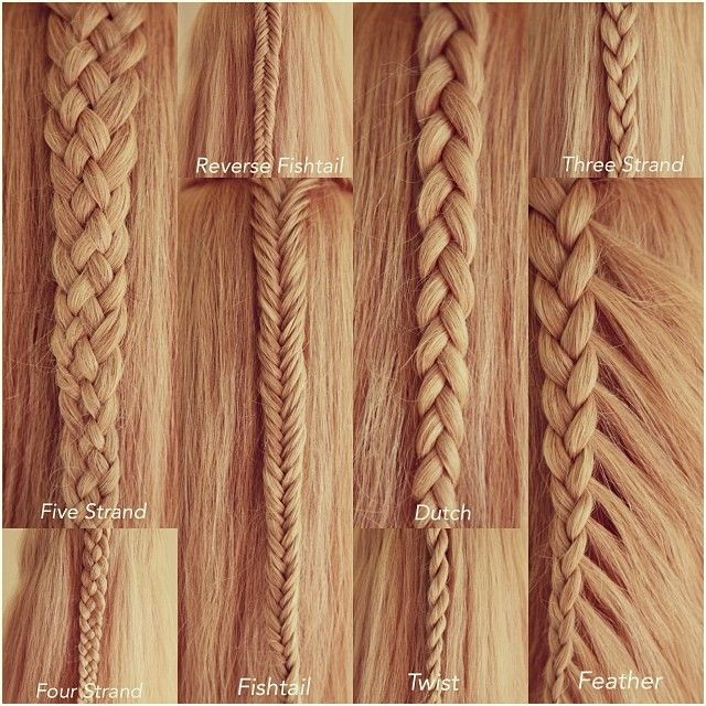 8 Basic Braids by Abella's Braids