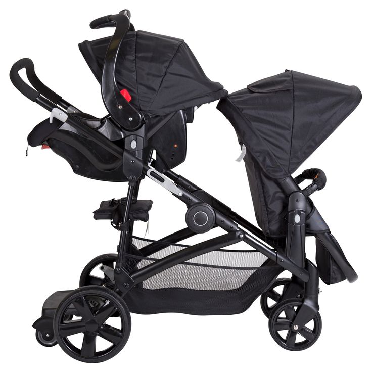 The Snap Gear Sit N' Stand Double is the perfect fit for the family with multiple kiddos. Equipped with versatile riding options the Snap Gear technology allows the two included seat frames to be fully removable and reversible. The seats can be parent facing or forward facing. The additional riding options include, a rear standing platform and a rear jump seat with 3-point safety harness to keep the kiddos safe and secure while on the go. The stroller frame is also compatible with Baby…