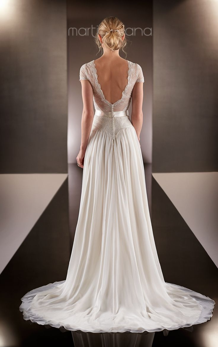 17 best ideas about chiffon wedding dresses on pinterest for How much are martina liana wedding dresses