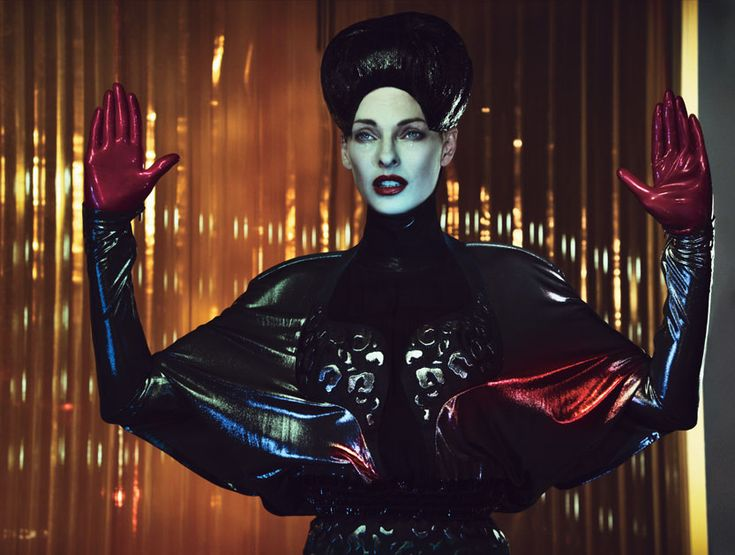 Get all the Halloween inspiration you need from this superhero chic spread starring Linda Evangelista, now on wmag.com.