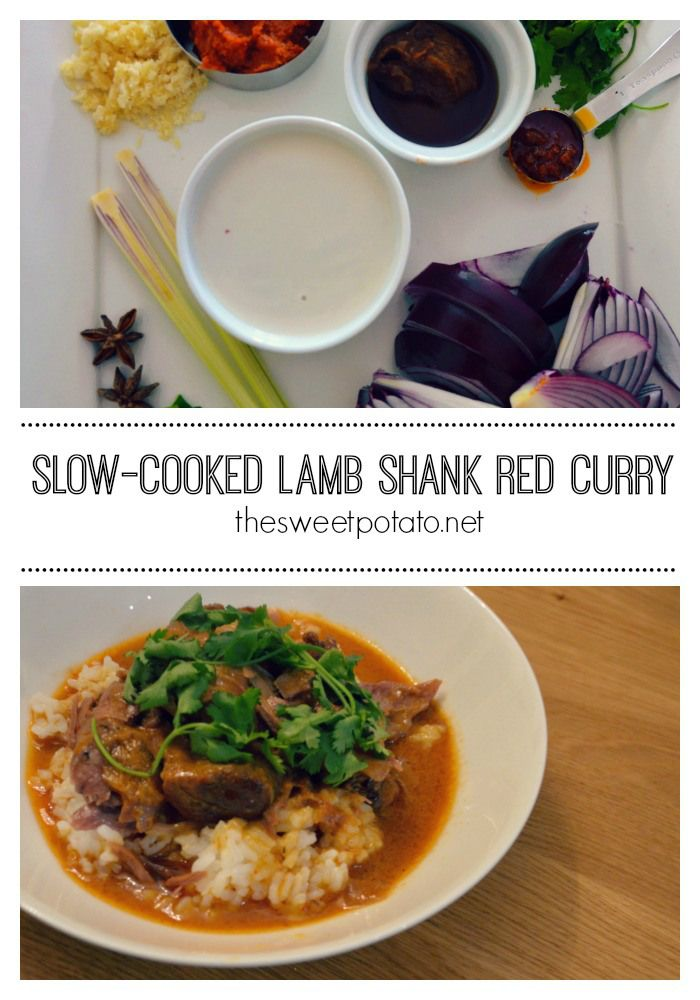 lamb shank red curry