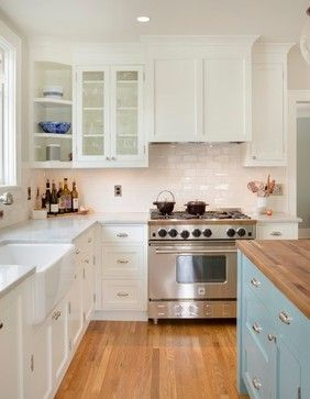 Eastmoreland Dutch Colonial Addition - Traditional - Kitchen - portland - by McCall Design llc