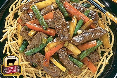 Beef and Garden Vegetable Stir Fry, from the Certified Angus Beef® brand ǀ CertifiedAngusBeef.com