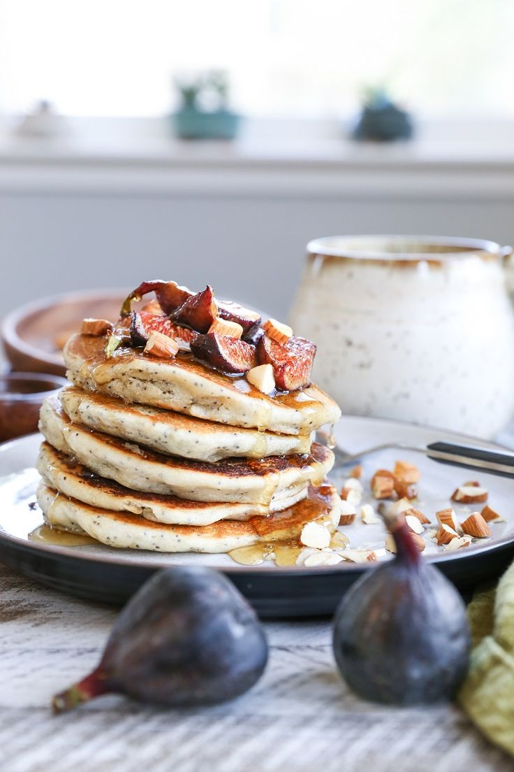 These gluten-free vegan poppy seed pancakes with caramelized figs are so easy to make, come together quickly, yet make for a unique – do I dare say – fancy breakfast! I have the …