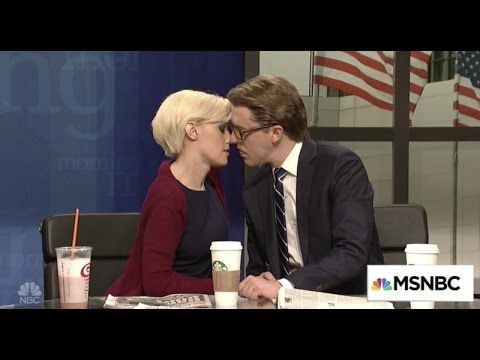 Watch Snl Stemay Morning Joe send up features Alec Baldwin on the phone