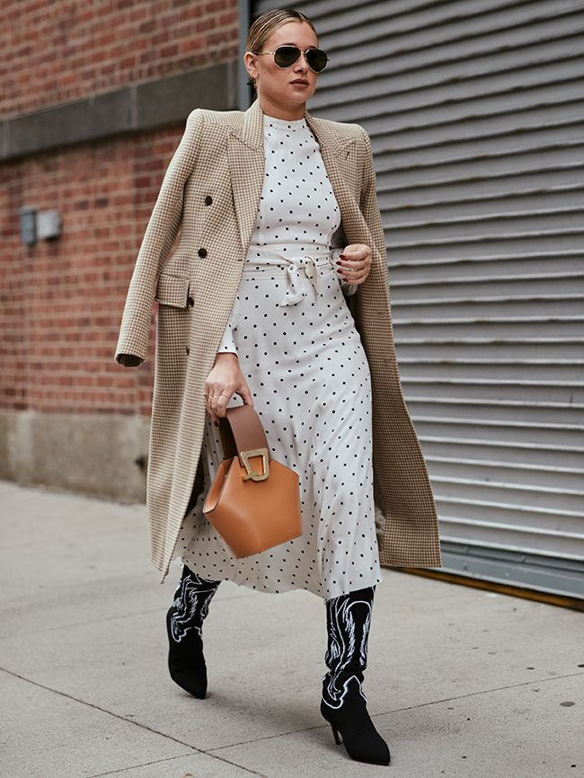 During New York Fashion Week, there has been rain, freezing temperatures and also loads of sunshine. Here's how street stylers get it right weather-wise.