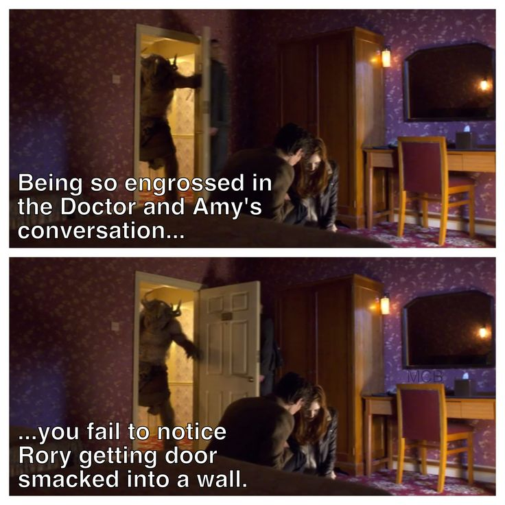 "I laughed for a full five minutes, sorry Rory. XD | ""The God Complex"" 
