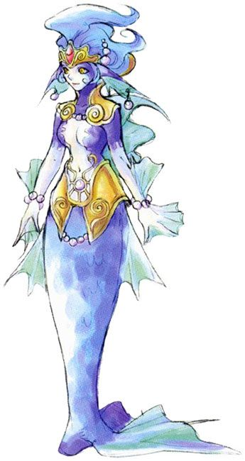 Chrono Cross. Irenes Character Art.