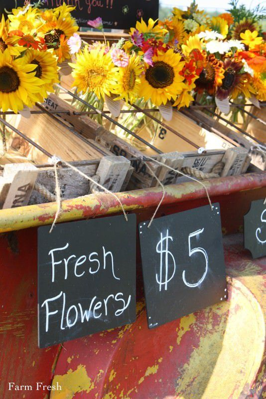 Farmfresh Bouquets Social Experiment To Sell Flowers On A Trailer By The Side Of Road