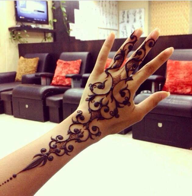 Modern Henna Designs: Modern Henna