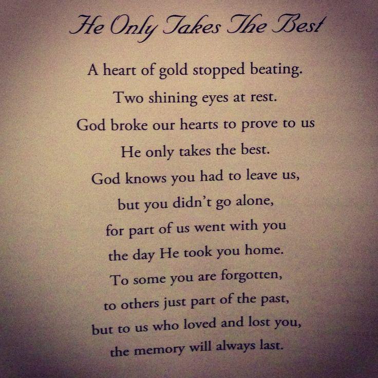 Poems Peace Rest Uncle