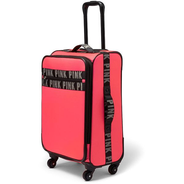 Best 25  Pink suitcase ideas on Pinterest   Pink luggage, Pink ...