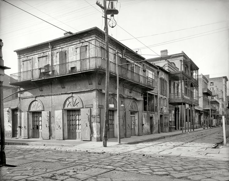 New Orleans Circa 1903 Quot Old Absinthe House And Bourbon