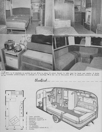 Interieur caravan pinterest interieur french and for Interieur french