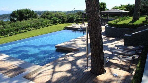 Terrasse en bois ipé Fixations visseries invisibles HAPAX  Terrasse