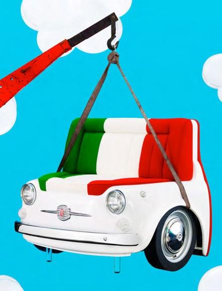 FIAT: naast auto ook Italiaans design voor thuis- De Smaak van Italië