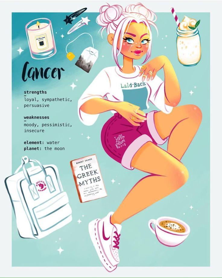 Cancer Zodiac Art, Zodiac Signs Sagittarius, Cancer Horoscope, Zodiac Horoscope, Gemini, Zodiac Signs Colors, Zodiac Star Signs, Signo Virgo, Astrology Tattoo
