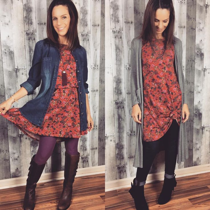 Fall is here! Transition you LuLaRoe Carly into the colder months. #LuLaRoe…