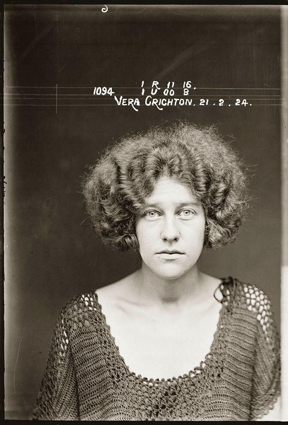 Mugshots don't get better than this. Vintage photos from Sydney Police Museum.